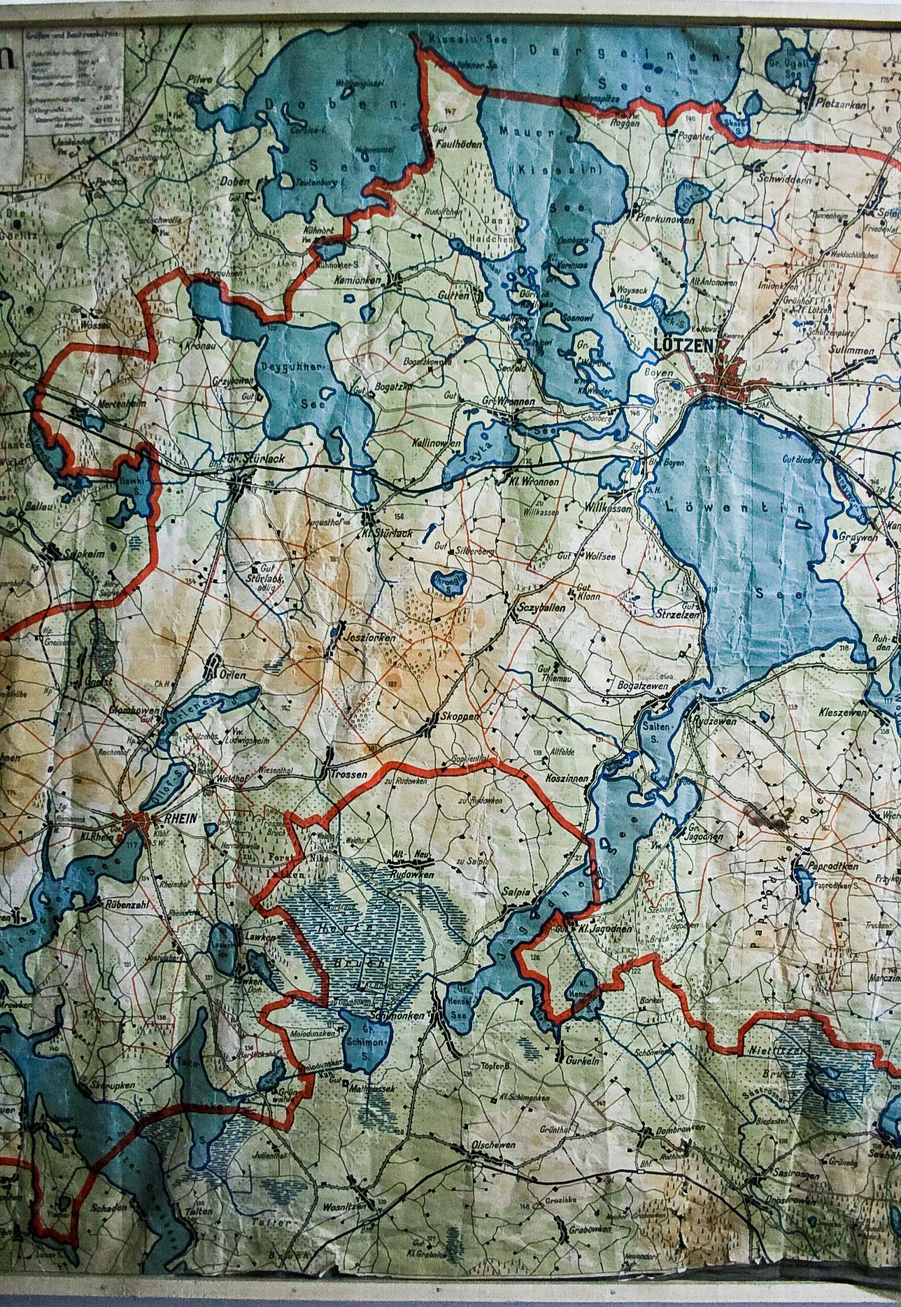 Masuren Karte Auf Deutsch Masurenrad De