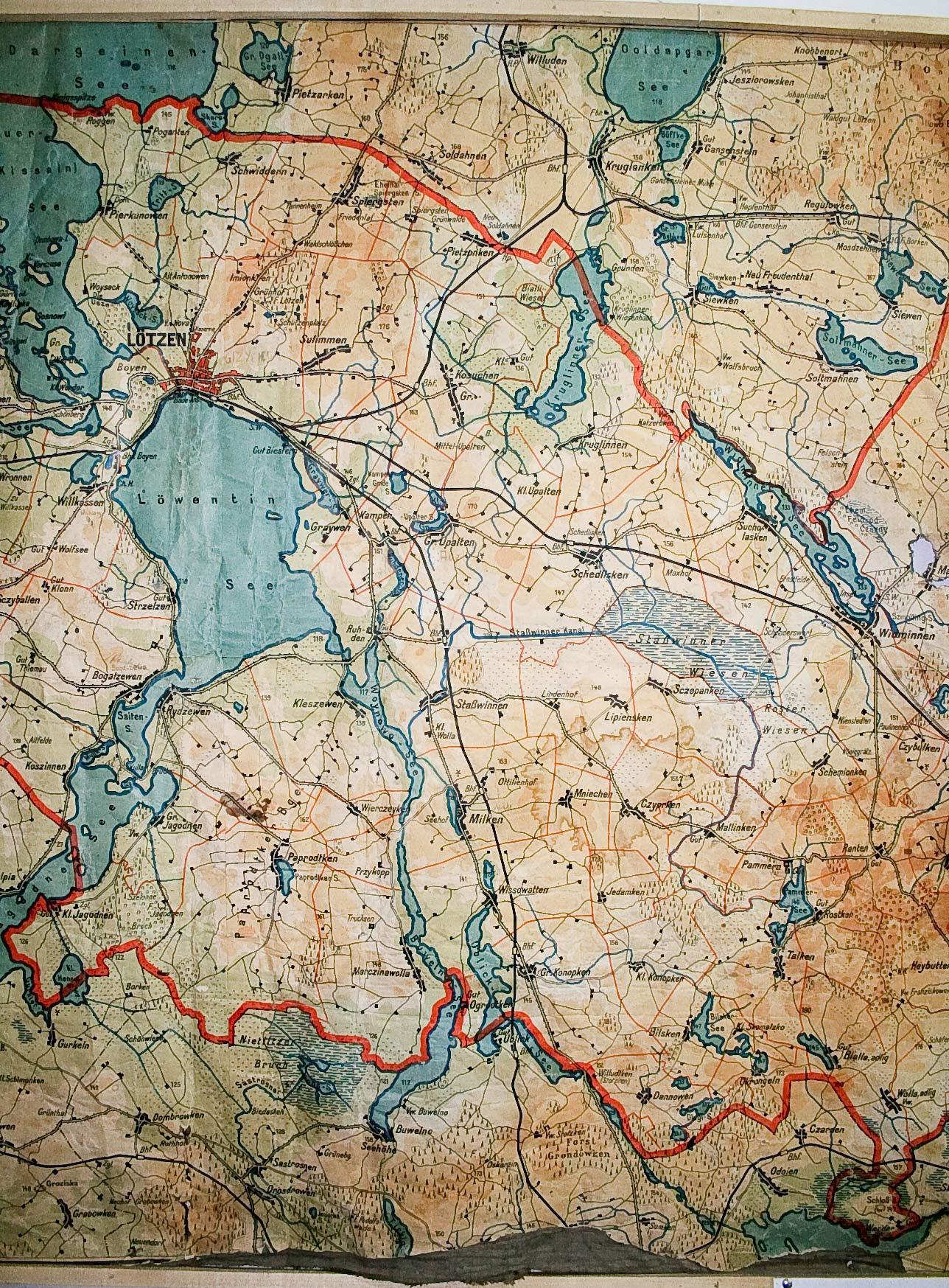 Masuren Karte Masurenrad De