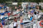 Schleuse in Ruciane Nida Nider-See- Urlaub in Masuren