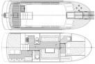 Grundriss vom Hausboot