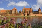 Die Marienburg vom Nogat