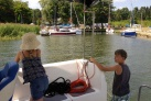 Hausbootferien Masuren Familienurlaub