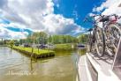 Hausboot und Rad Masuren Polen