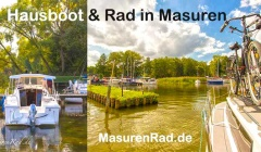 Hausboot Rad Polen Masuren