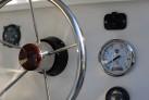 Steuer bei dem Hausboot Walkaround