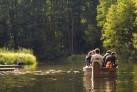 Fluss Krutinna-Paddeln in Masuren