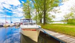Masuren urlaub in Polen auf dem Boot