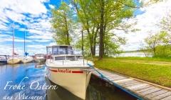 Masuren Urlaub Hausboot