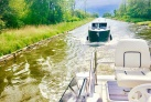 Im Kanal Fahrt auf den Masurischen Seen