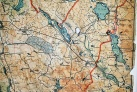Masuren Karte