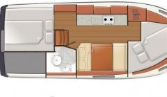 Hausboot Nautika 830 Masuren