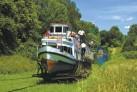 Oberlander Kanal -Schiffahrt