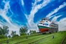 Oberland Kanal Schifffahrt