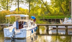 Polen Hausboote Weekend 820 Lux