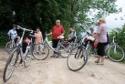 Kurze Pause-Radtour in Masuren