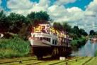 Schiffahrt auf dem oberlaender kanal