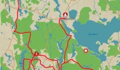 Suedliches Masuren Karte radreise