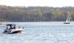 Hausboot und Angeln