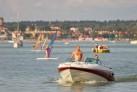 Auf dem Niegocin-See in Masuren