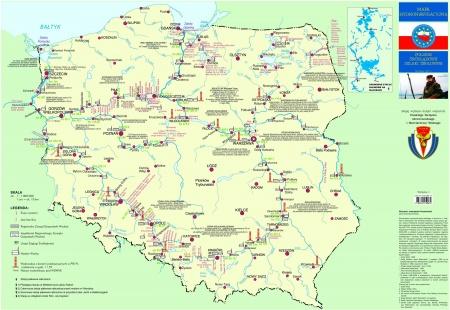 Wasserwege In Polen Karte Masurenrad De