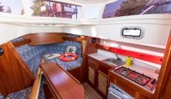 Innenraum vom Boot Laguna Cruiser