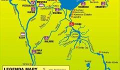 Hausbootferien Weichseldelta Karte