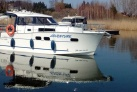Auf dem See Niegocin ein Boot
