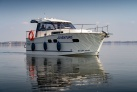 Auf dem See Niegocin ein Boot Nautika 830