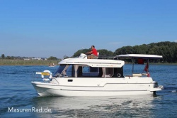 Hausboot Sun Camper flybridge Masuren