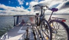 Polen Hausboot Rad