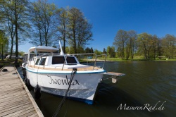 Weekend 820 Luxus Plus Hausboot Polen Masuren