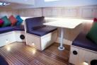 Weichsel Hausboot Sitzraum im Unterdeck