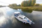 Weichsel Werder Boot auf dem Wasser