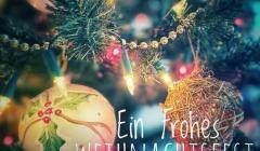 Weihnachten und Neujjahrsgruesse